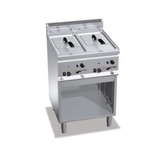 friggitrice a gas 2 vasche serie 600 GL8+8M