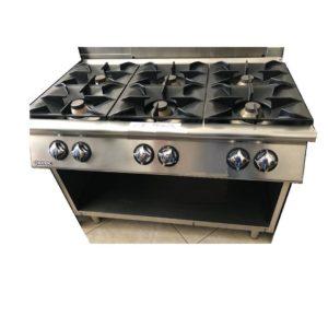 Cucina-Mareno-6-fuochi-su-armadio-aperto-serie-700